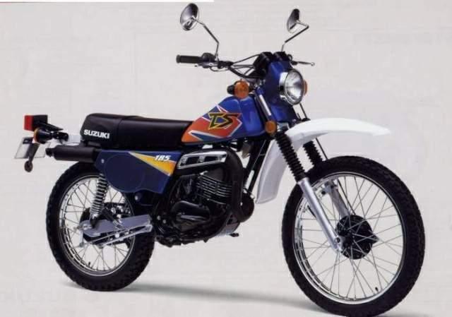 Suzuki TS 185 Sierra technical specifications